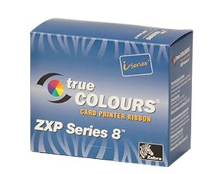 Zebra iSeries 8 YMCKK Colour Ribbon (500 images)