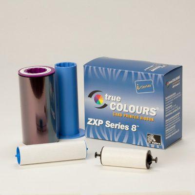 Zebra iSeries 8 YMCUvK Colour Ribbon (500 images)