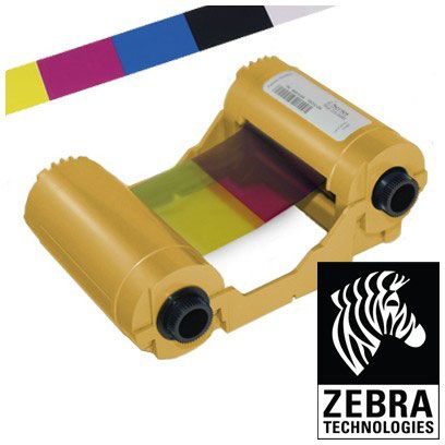 ZEBRA ZXP3 Colour YMCKO Ribbon - ANZ 200 IMAGES