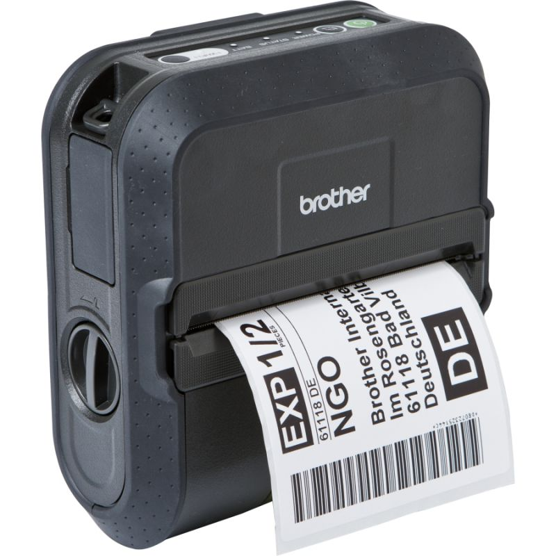 Brother RJ-4030 4 inch Mobile Receipt and Label Printer Kit Bluetooth, USB, Serial