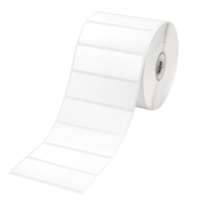 Brother RD-S04C1 Label Die Cut 76mm x 25mm, 1500 labels per roll, 3 Pack