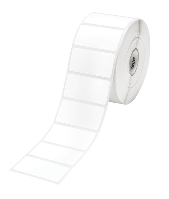 Brother RD-S05C1 Label Die Cut 51mm x 25mm, 1500 labels per roll, 3 Pack