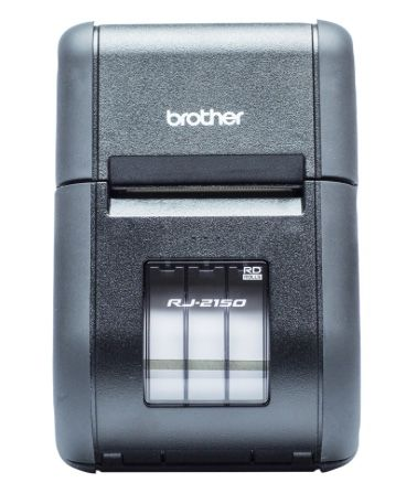 Brother RJ-2150 Mobile Printer - Bluetooth & AirPrint & Wifi & MFi & USB (up to 2 inch)