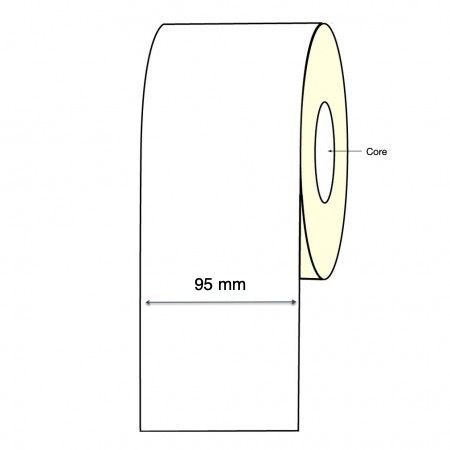 Epson TM-C3500 Inkjet Continuous Label Roll - 95mm X 30 Meter Long Permanent (2 Rolls)