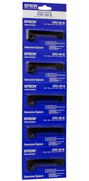 Genuine Epson Ribbon Cassette ERC-09B (Black C43S015354)