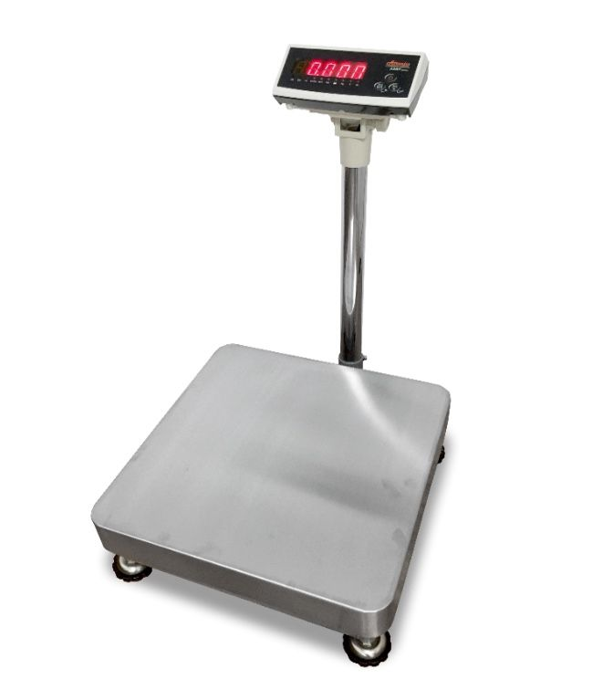 CAS ADBP Stainless Steel Platform Scale with LCD Display