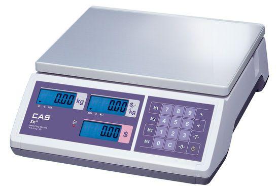 CAS ER JUNIOR Price Computing Scale (6kg, 15kg, 30kg)