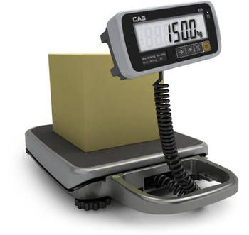 CAS PB Series Portable Bench Scale - Ideal for parcel and produce weighing