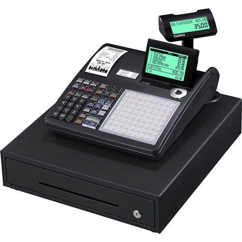 Casio SE-C3500 Cash Register - Dual Station - Black (Optional Scanner & Paper)