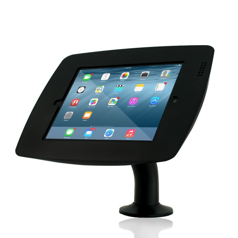 Cento Rotate or Flip Bolt Down Stand for iPad Galaxy Tab Surface Tablets Black Or White