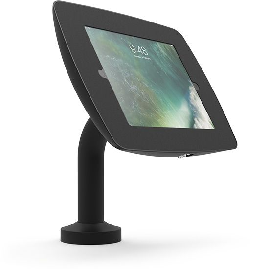 Cento Tablet Stand Tall - Rotate + Swivel 270 Degrees Black or White