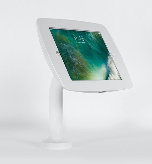 Cento Tablet Stand Tall - Rotate  with Swivel Base - White
