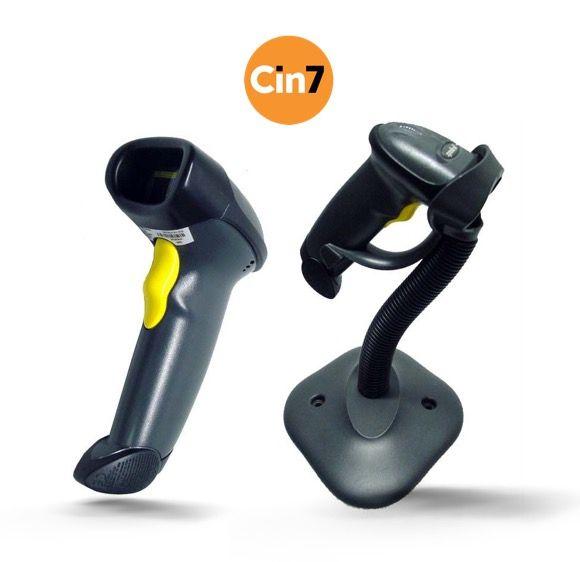 Cin7 Compatible Zebra Symbol LS2208 USB Handheld Barcode Scanner (Corded & USB)