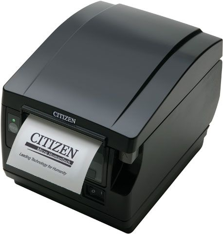 CITIZEN CTS-851 Thermal Printer USB Serial Parallel Black