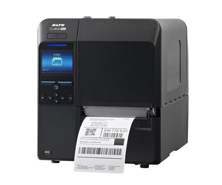 SATO CL4NX Plus Industrial 4 inch Thermal Transfer Label Printer (USB, Serial, LAN, Serial, Parallel, Bluetooth)