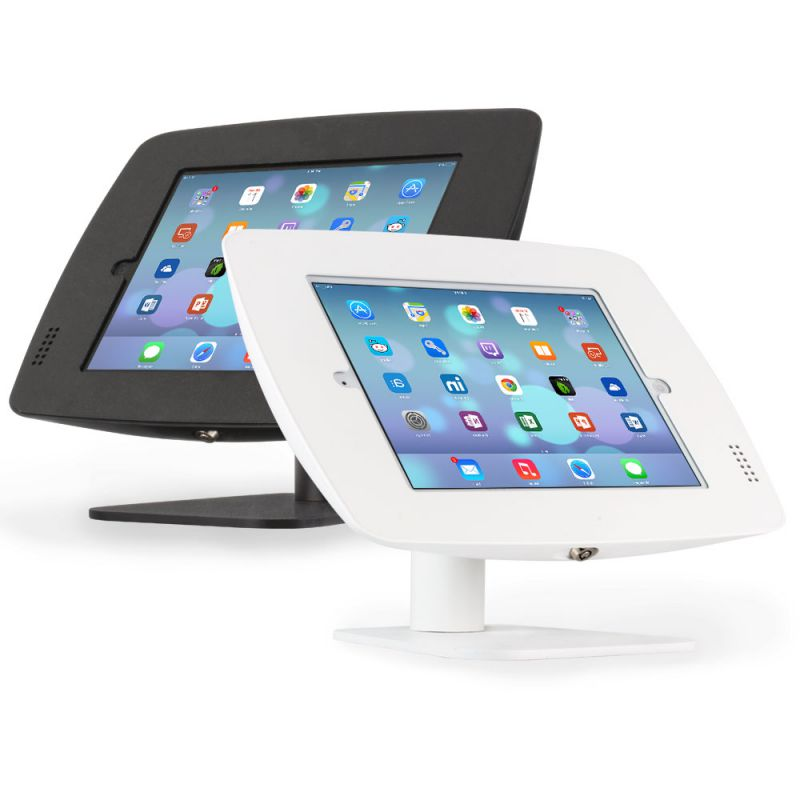 Como Rotate or Flip iPad Stand for iPad  Galaxy Tab  Surface Tablets Black Or White