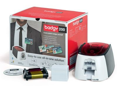 Evolis Badgy100 or Badgy200 Plastic Card Printer