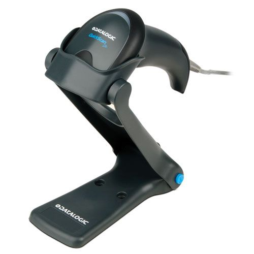 Datalogic QuickScan Lite Imager USB Kit, Including Cable, Stand, Black