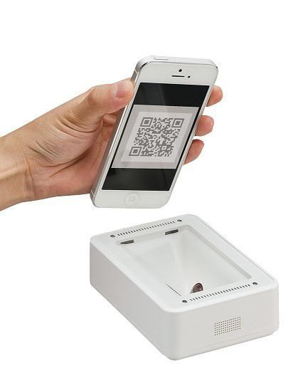 Denso QK30-IC Fixed Desktop IC Card Scanner - NFC Reader, 1D & 2D Reader