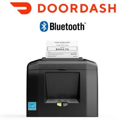 DoorDash App iPad or Android Compatible TSP654 Bluetooth Order Printer