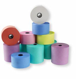 Dry Cleaning Rolls Wet Strength (76x76) - Various colours