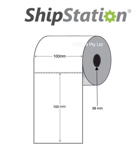 ShipStation Shipping Labels for the GK420d ( 2,400 Labels - 6 rolls of 400 )