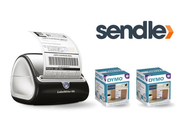 Sendle Bundle - DYMO LabelWriter 4XL Shipping Label Printer & 2 Boxes Shipping Labels