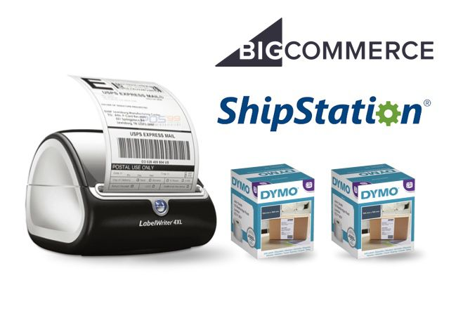 BigCommerce ShipStation Bundle - DYMO LabelWriter 4XL Shipping Label Printer & 2 Boxes Shipping Labels