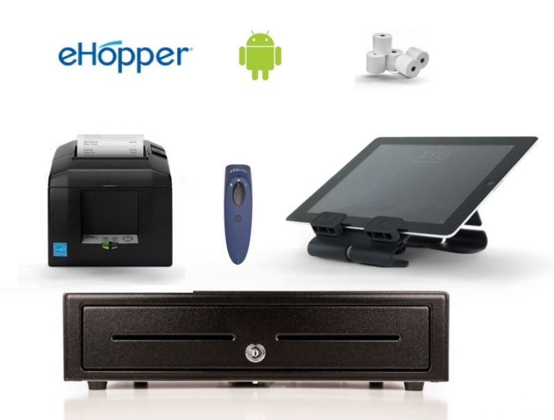 eHopper POS All in One Android Hardware Bundle