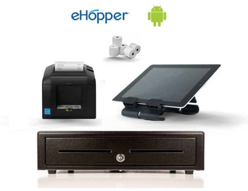 eHopper POS Standard Android Hardware Bundle