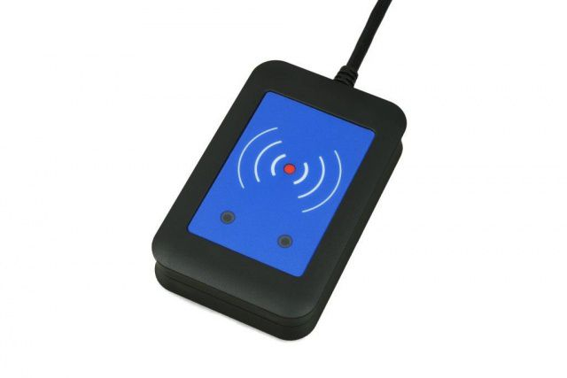 Elatec TWN4 Desktop Multi RFID Reader - 25kHz, 134.2kHz and 13.56 MHz