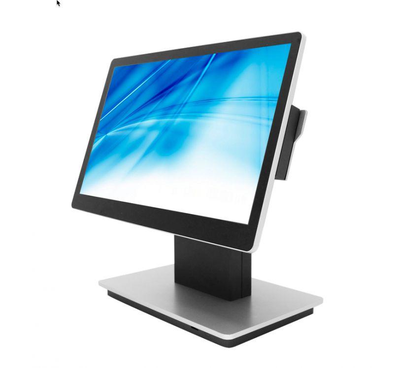 Element Touch Screen POS Terminal 3965U 8/128 15.6PCAP Grey Silver W10
