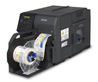 EPSON Colour Inkjet Label Printer TMC7500 MATT DURABrite Ultra ink (USB & Ethernet)