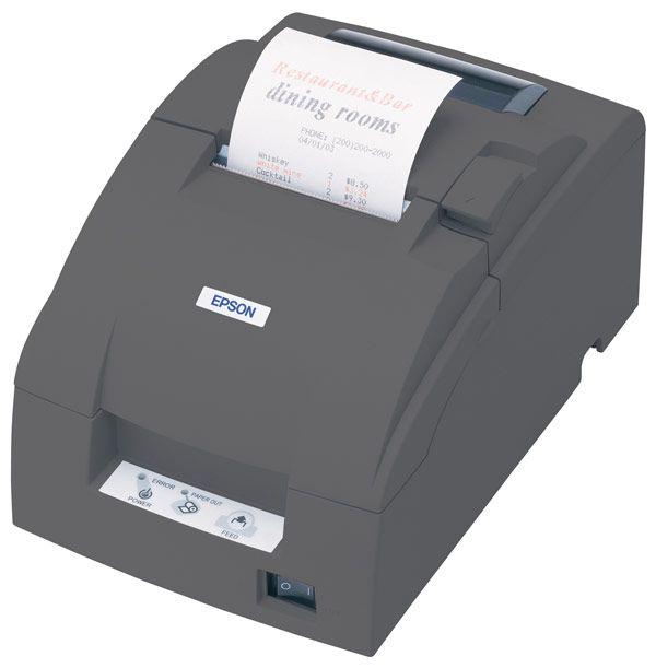 Epson TM-U220B Impact Receipt Printer RS-232 Serial - Receipt and Cutter