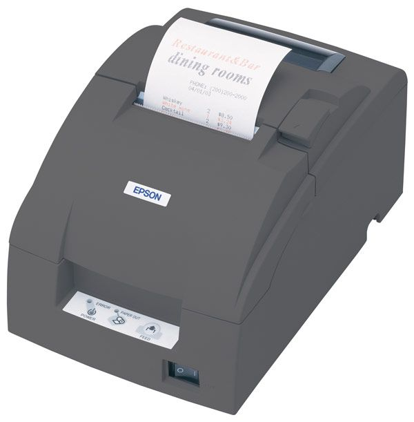 Epson TM-U220B-U Impact Receipt Printer USB - Receipt and Cutter
