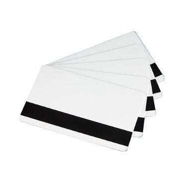 Evolis Blank White LoCo Magnetic Stripe Cards Zenius, Primacy C4004