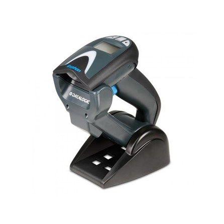 Datalogic Gryphon GM4132 Cordless Scanner - 1D, USB, Base/Cradle, 433 MHz, GM4132-BK-433K1