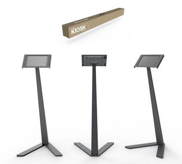 Heckler Kiosk iPad and Tablet Floor Stand - Optional Enclosure