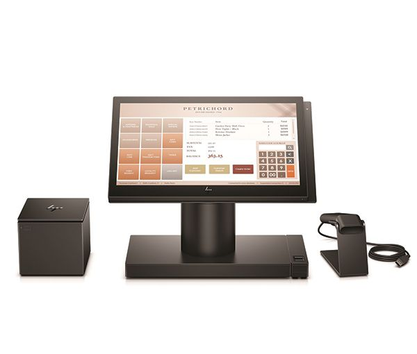 HP Engage One 14 inch Touch POS Bundle (Black or White)