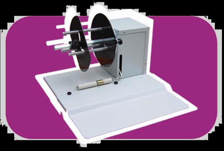 ING Small Rewinder Suitable to Desktop Label Printers