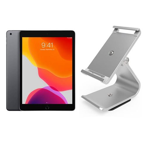 New Apple iPad 10.2 inch and Full Tilt Stand Bundle - Ideal for Point of Sale