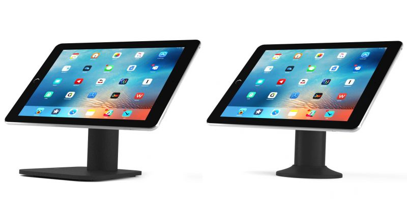 Juno Universal Tablet & iPad Retail Stand - Bolt Down Pole or Free Standing Options
