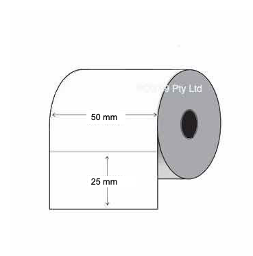 Thermal Transfer Labels 50mm x 28mm x 25/38/40mm (2 Rolls Of 2,000) White Mylar Asset Labels