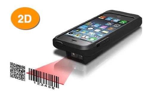 Linea Pro 5 for iPhone 5 2D Imager Scanner, MSR