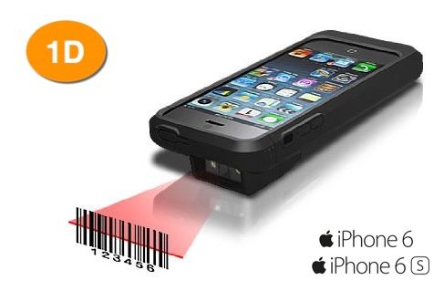 Linea Pro 6 for iPhone 6/6S MSR 1D Scanner