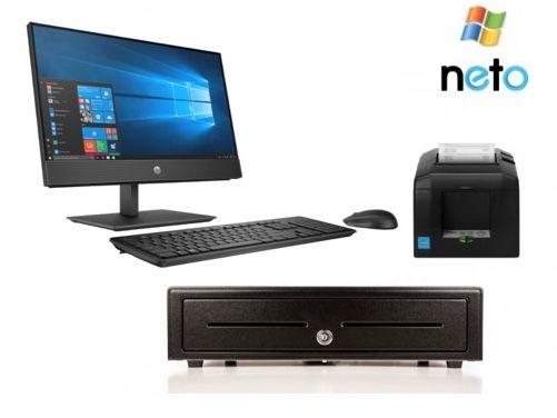 Neto POS Bundle No.23 - HP Computer, Receipt Printer, Cash Drawer (Optional Scanner)