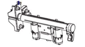 Zebra ZT410 Toggle Bar Kit (includes lift strap)