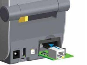 Zebra ZD420T Upgrade Kit Ethernet Module Thermal Transfer Cartridge Model