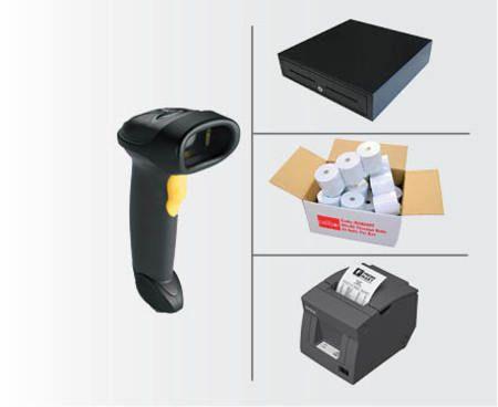 POS99 USB Bundle - Datalogic USB Scanner, Epson USB Thermal Printer, Cash Drawer, Paper (PC or Mac)