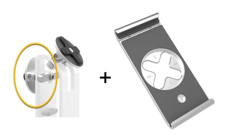 Studio Proper Customer Facing Bracket and Lock Belt for iPad (Requires a Flex Stand)